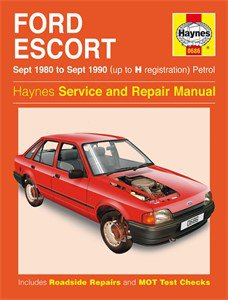 Haynes Reparationshandbok, Ford Escort Petrol, Universal