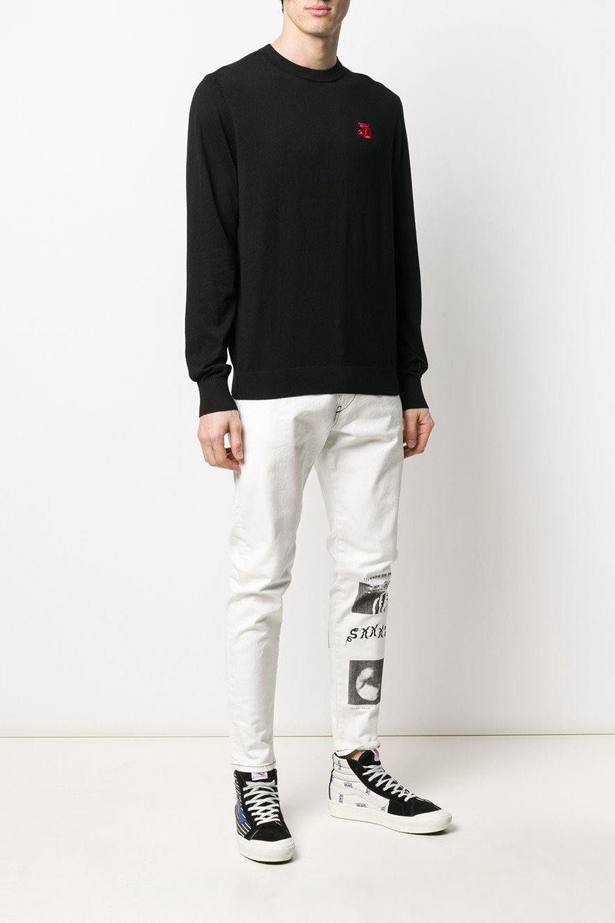 Diesel Men's Sweatshirt Various Colours 312534 - black-2 S