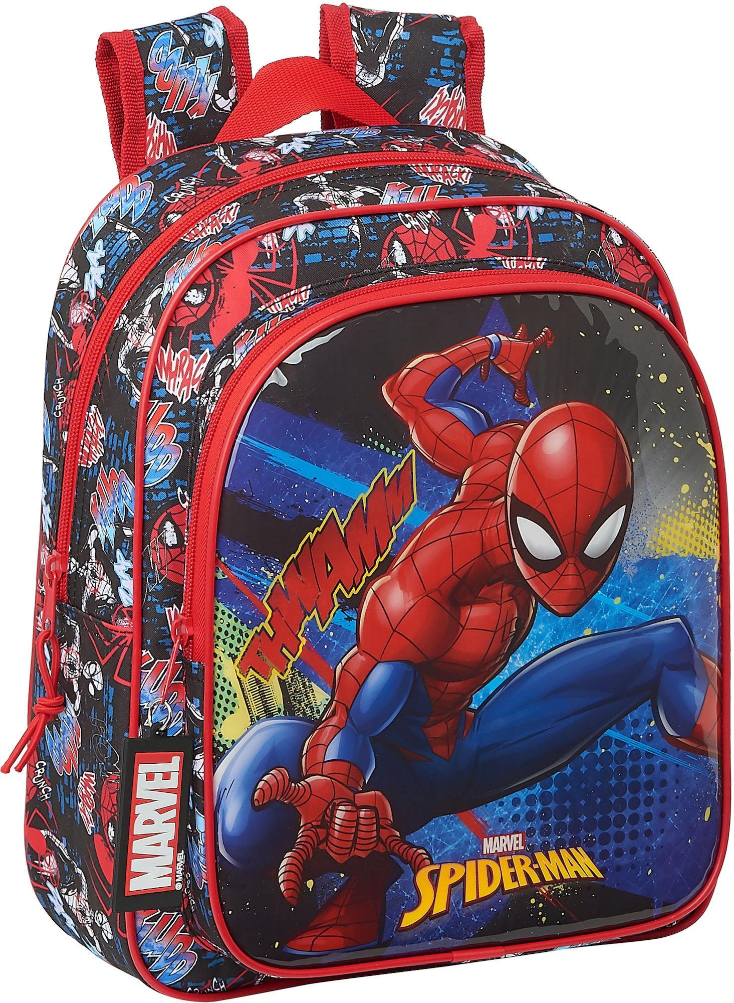 Marvel Spider-Man Go Hero Ryggsäck 9L, Red