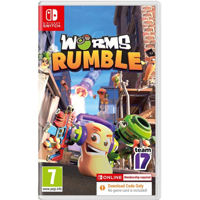 WORMS RUMBLE (Code in a Box)