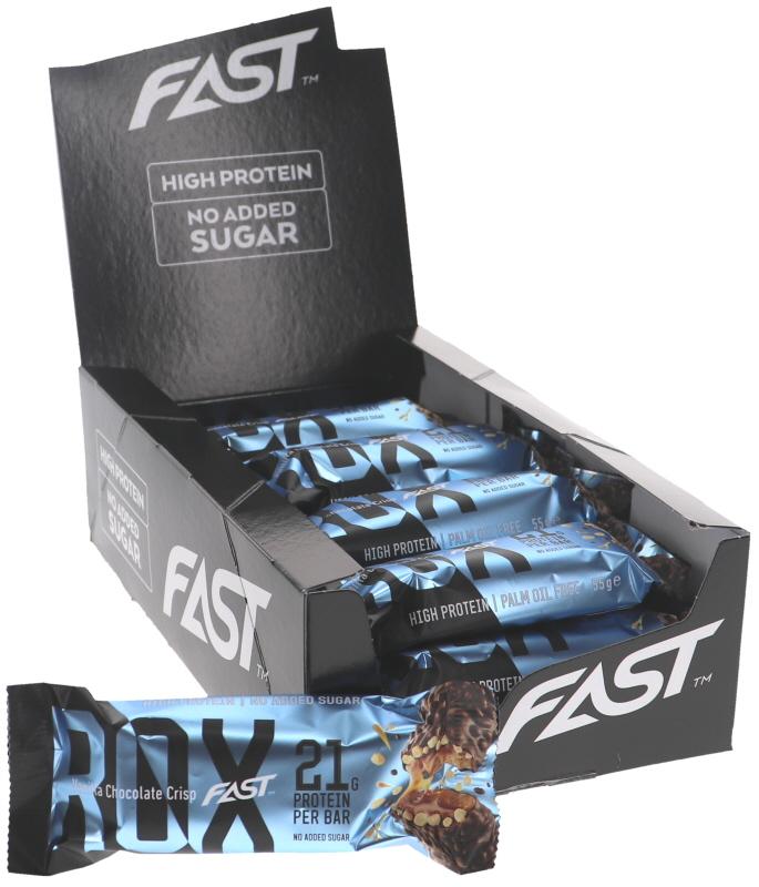 Proteiinipatukat Vanilla Chocolate Crisp 15kpl - 43% alennus