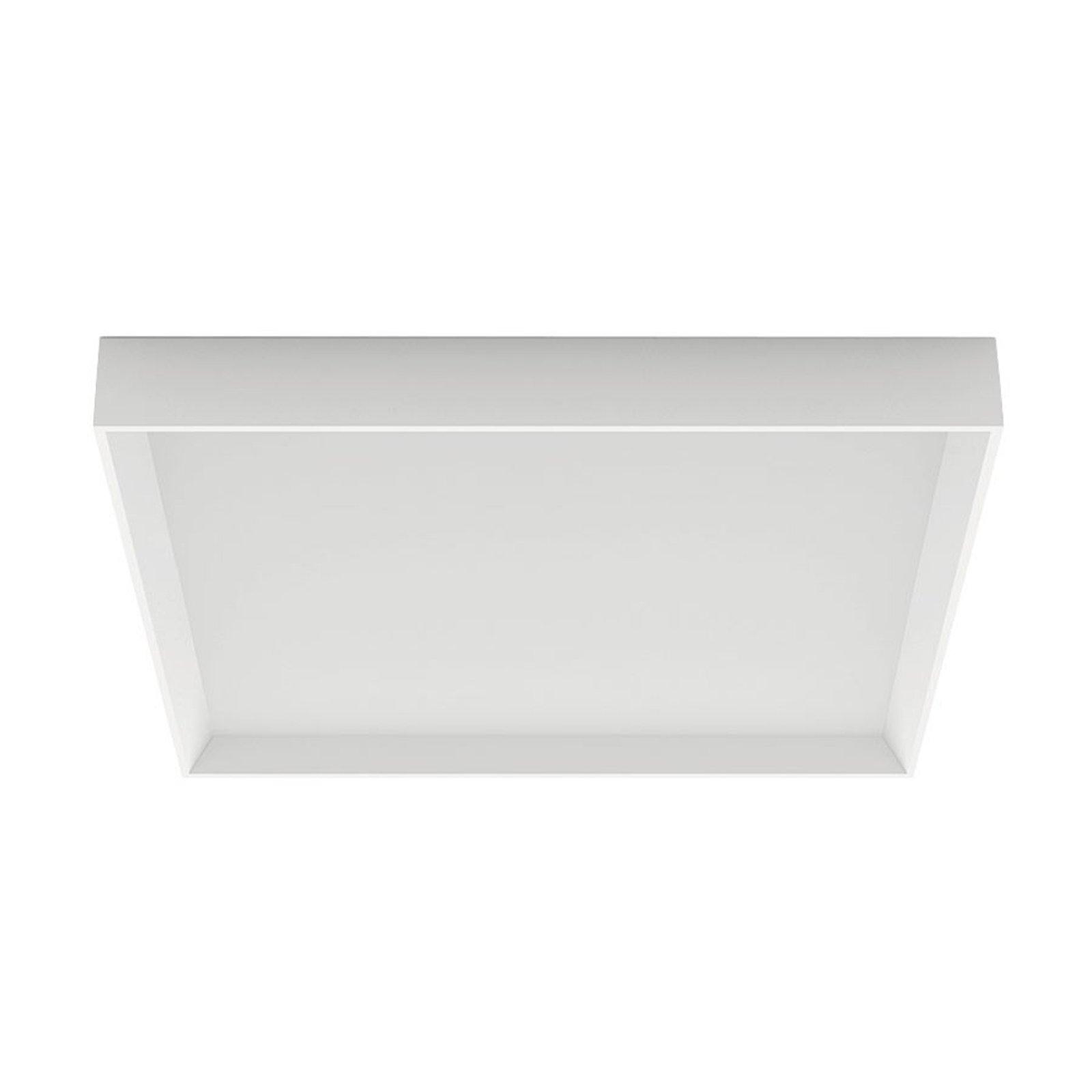 Tara Q LED-taklampe, kantet, 50 x 50 cm