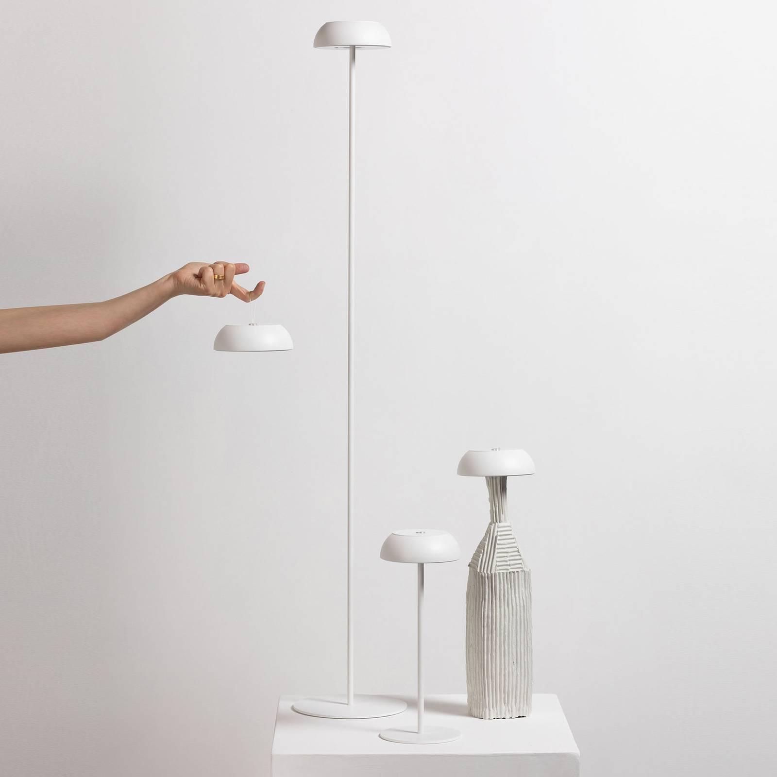 Axolight Float LED-designer-lattiavalo, valkoinen