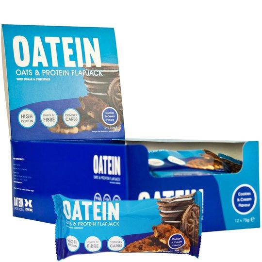 """Hel Låda Havre- & Proteinbars """"Cookies & Cream"""" - 64% rabatt"""
