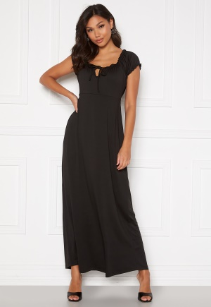 Happy Holly Tessie maxi dress Black 52/54L