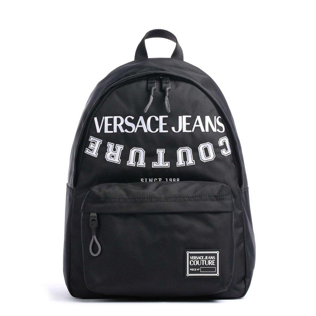 Versace Jeans Unisex Backpack Black E1YWAB30_71893 - black NOSIZE