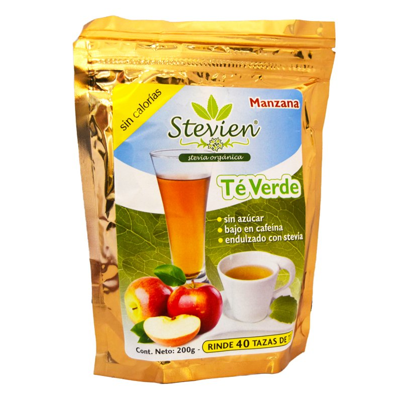Grönt Te Äpple Stevia - 50% rabatt