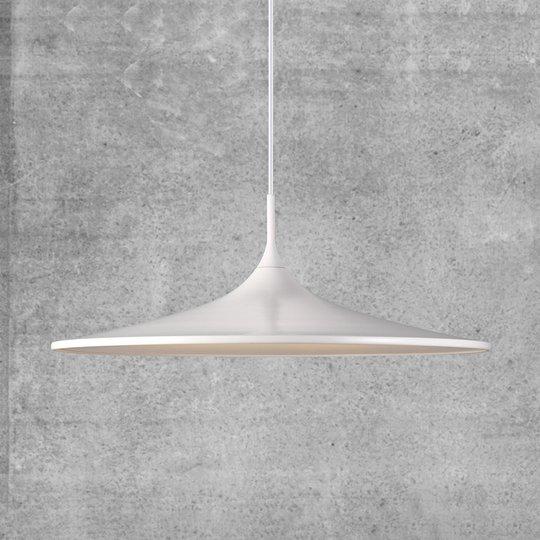 Riippuvalaisin Skip, LED 57 cm, valkoinen