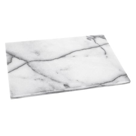 Rektangulært brett marmor