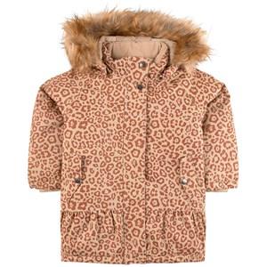 Kuling Monterosa Vinterjacka Brown Leopard 92 cm