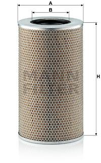 Ilmansuodatin MANN-FILTER C 25 860