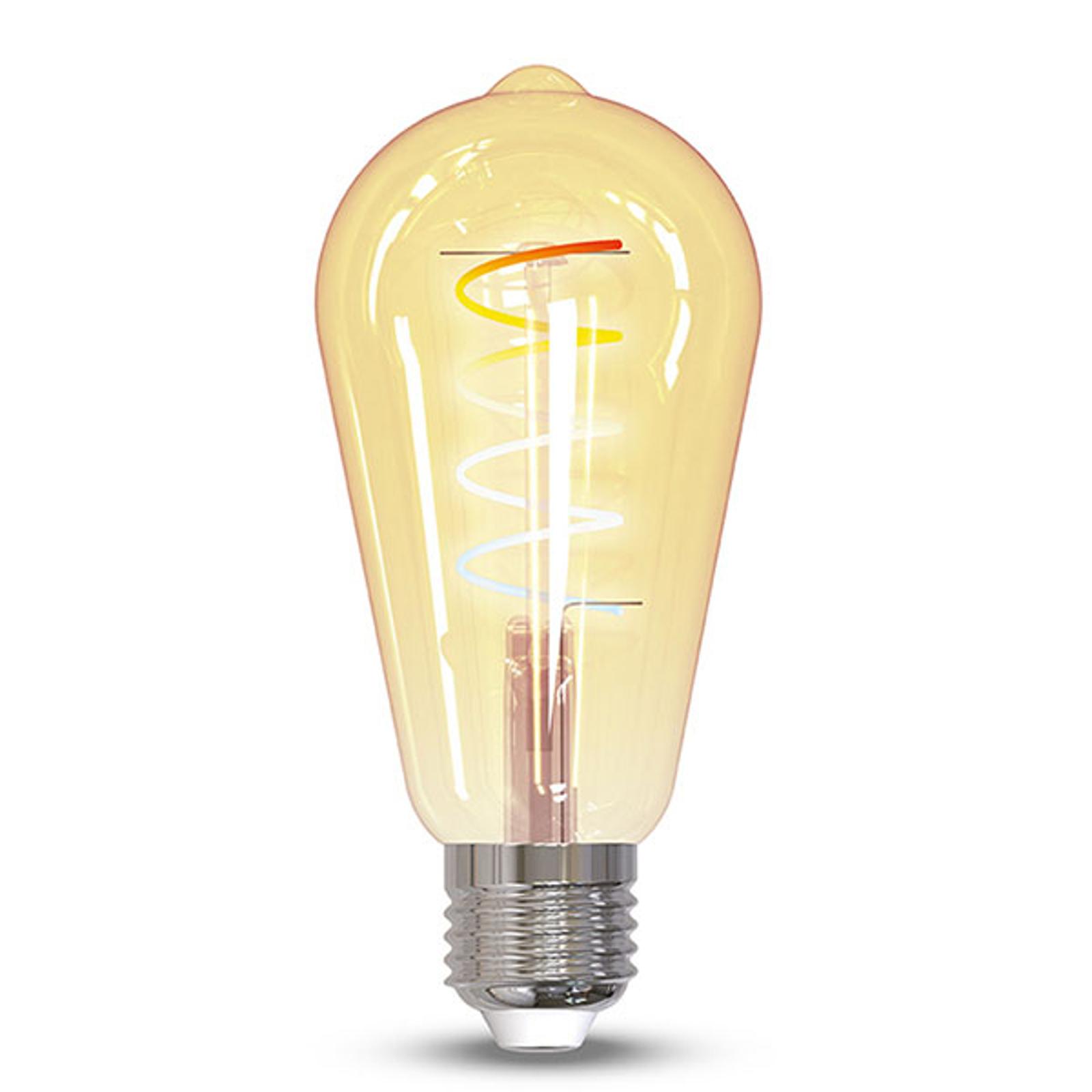 Müller Licht tint -LED-lamppu Retro Gold E27 5,5W