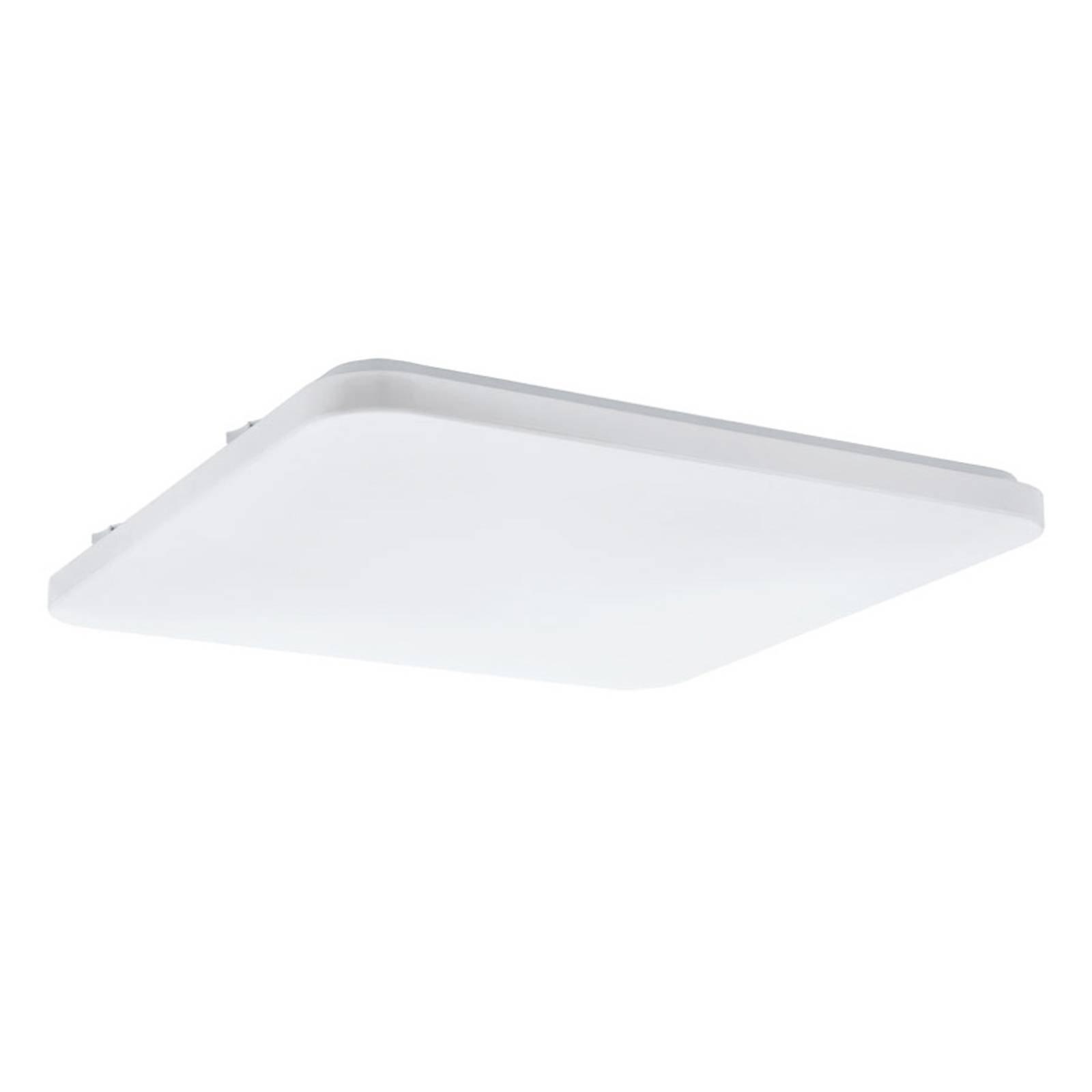 LED-taklampe Frania kantet