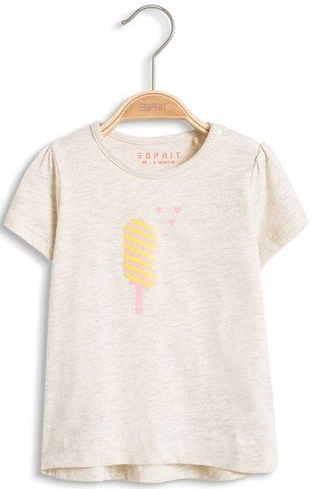 ESPRIT T-Shirt Eis, Pastel Grey str 62