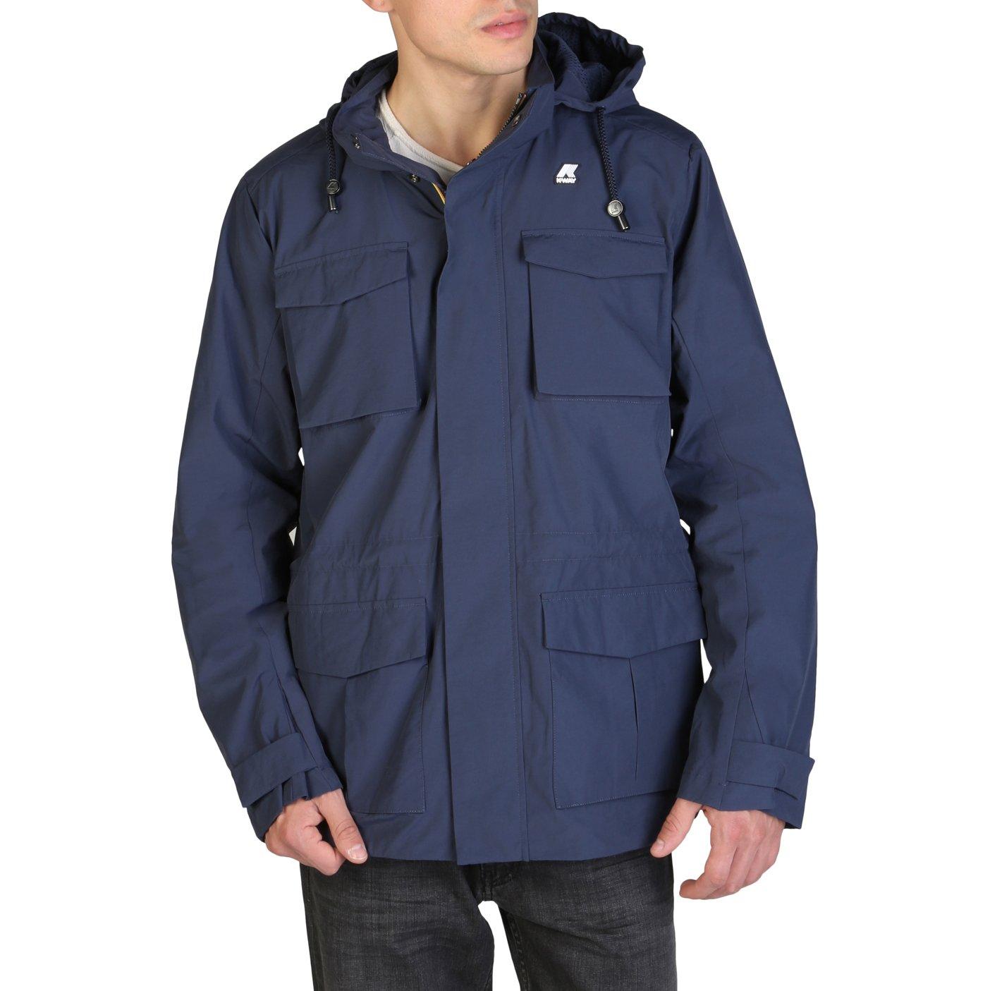 K-Way Men's Jacket Various Colours K00B9J0 - blue M