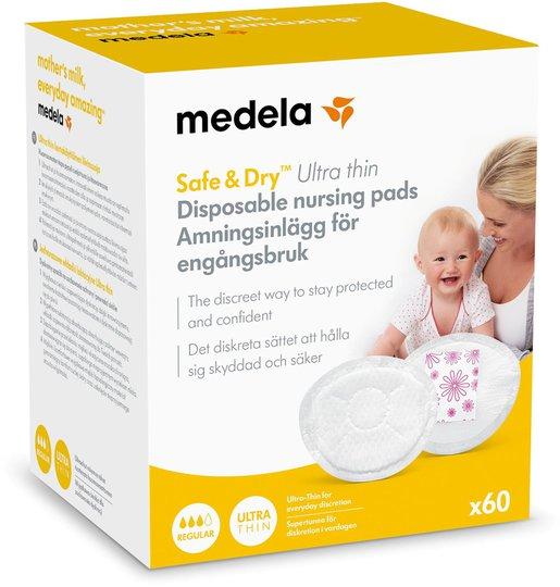 Medela Ammeinnlegg Ultra thin 60-pack