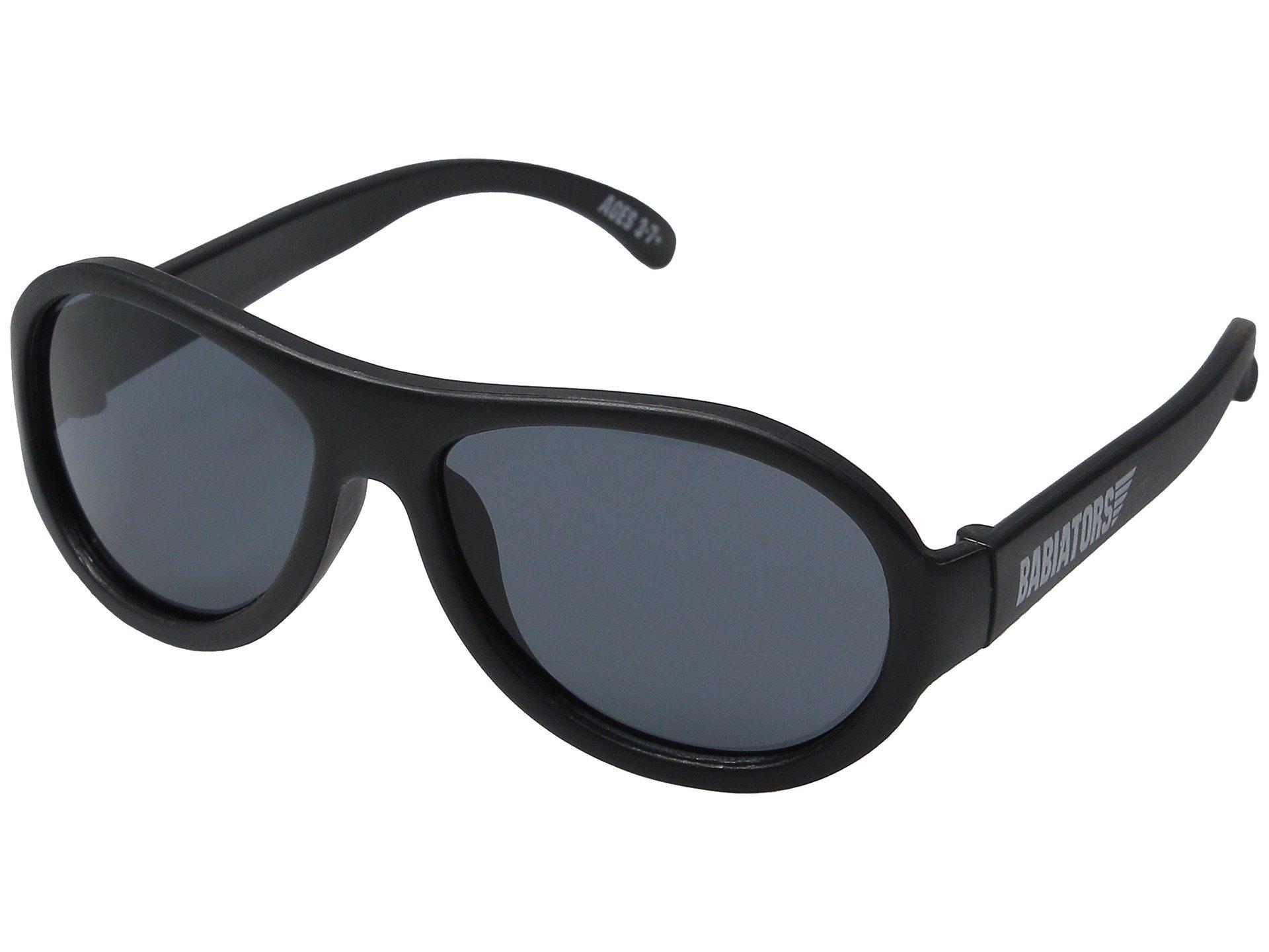 Babiators - Original Aviator Kids Sunglasses - Black Ops Black (3-5 years)