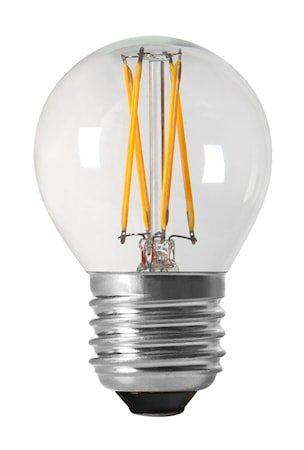 Lyspære Shine LED Globe E27