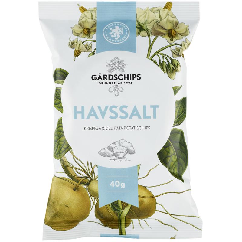 Potatischips Havssalt 40g - 41% rabatt