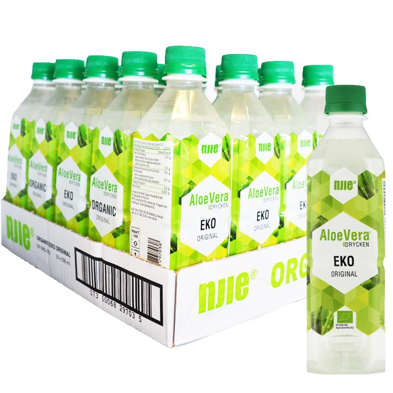"Hel Platta Aloe Vera-dryck ""Original"" Eko 20 x 50cl - 63% rabatt"
