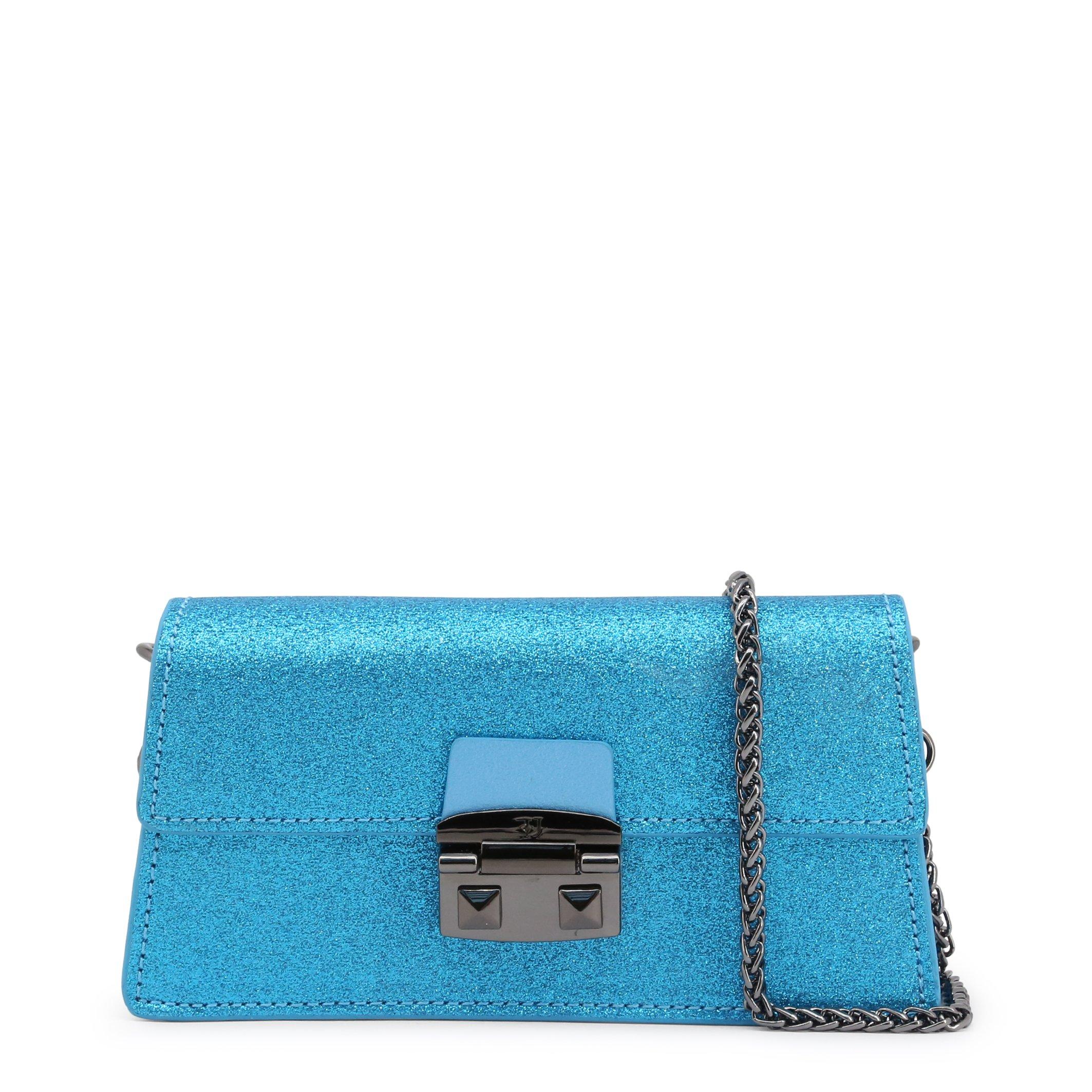 Trussardi Women's Clutch Bag Various Colours CORIANDOLO_75B00554 - blue NOSIZE