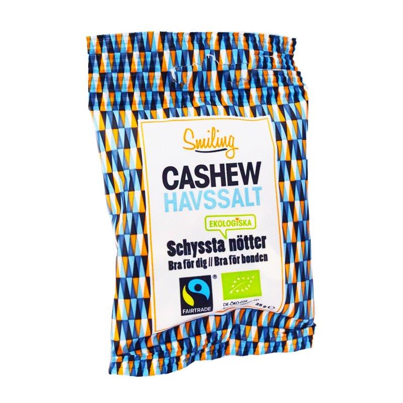 Cashew-pähkinät, Merisuola 25g - 50% alennus