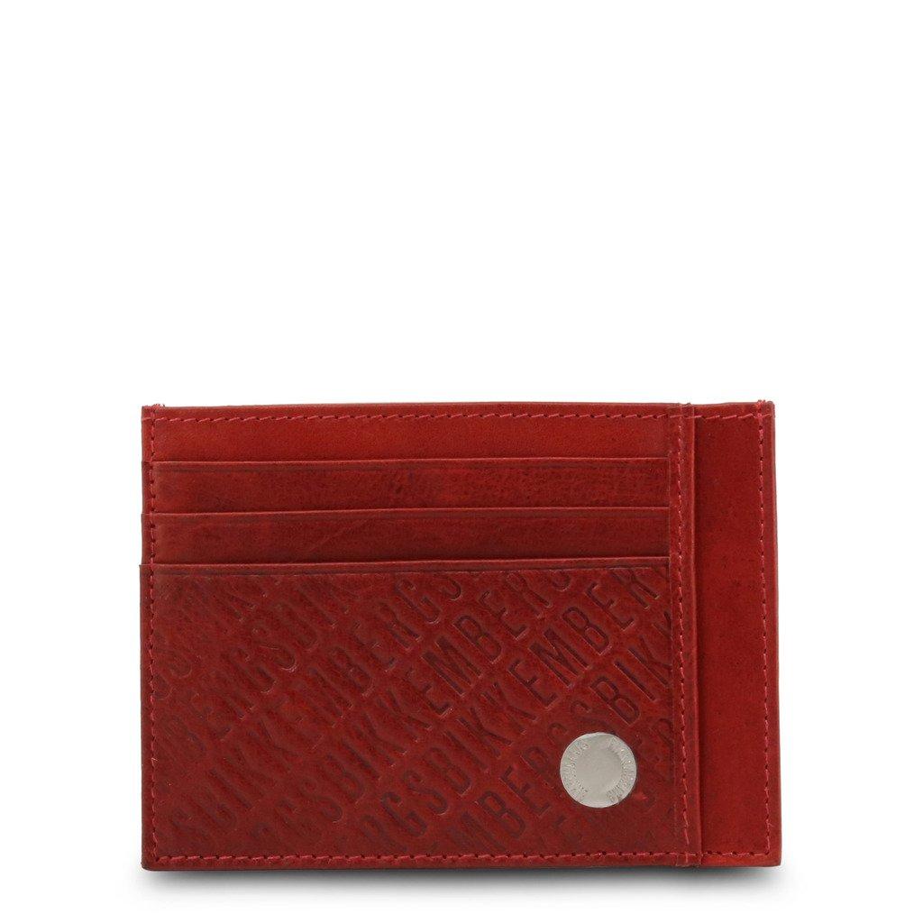 Bikkembergs Men's Wallet Red E91PME553093 - red NOSIZE