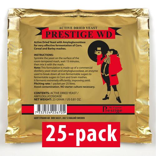 WD-Jäst för 25 liter 25-Pack