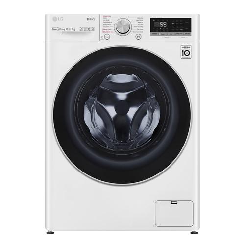 Lg F4dv710s1we Kombinerad Tvätt/torkmaskin - Vit