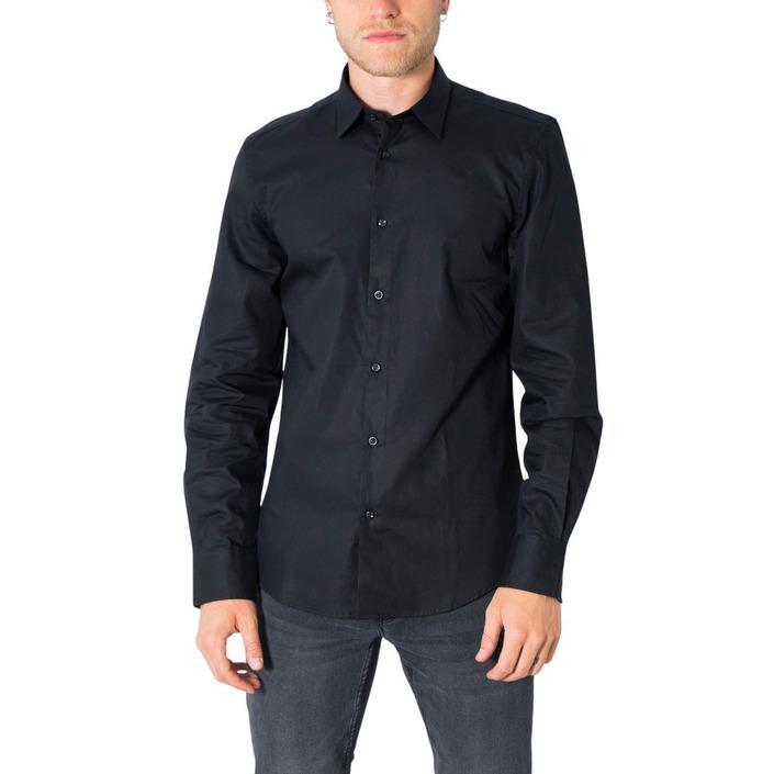 Antony Morato Men's Shirt Various Colours 308289 - black 44
