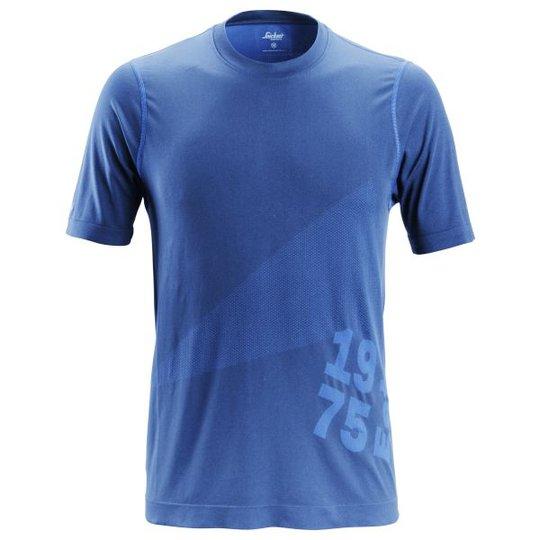 Snickers 2519 FlexiWork T-paita sininen XS