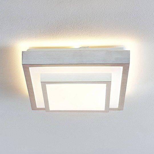 Lindby Mirco LED-taklampe, kantet, 32 cm