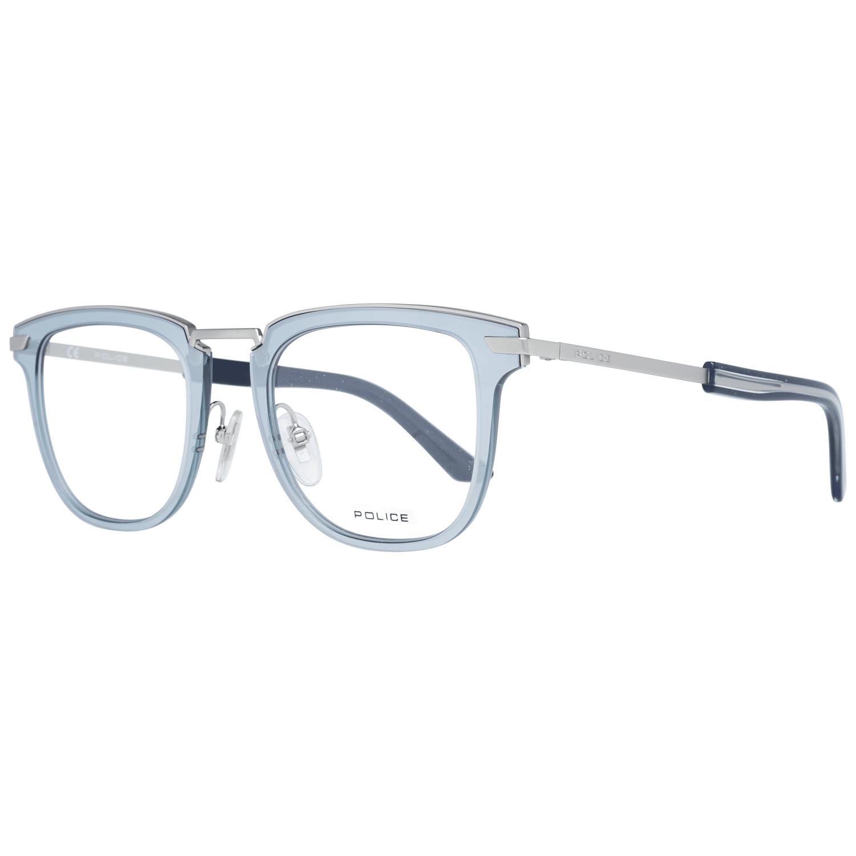 Police Men's Optical Frames Eyewear Silver PL566 480581