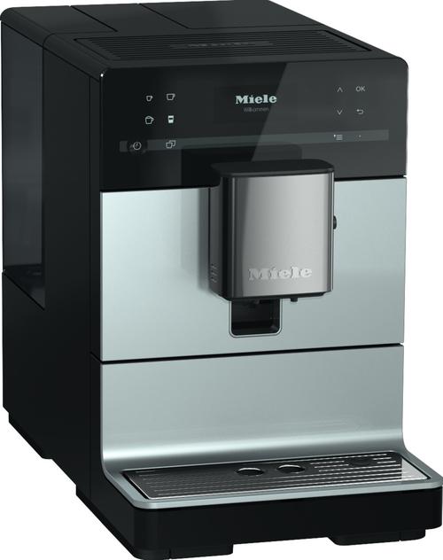 Miele Cm 5510 Alusilver Metallic, Silence Espressomaskin - Svart/silver