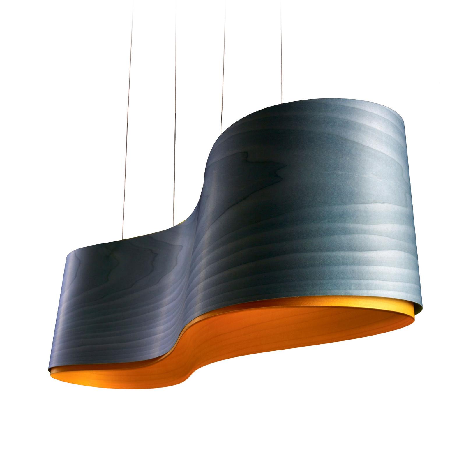 LZF New Wave -riippuvalo, sininen/keltainen