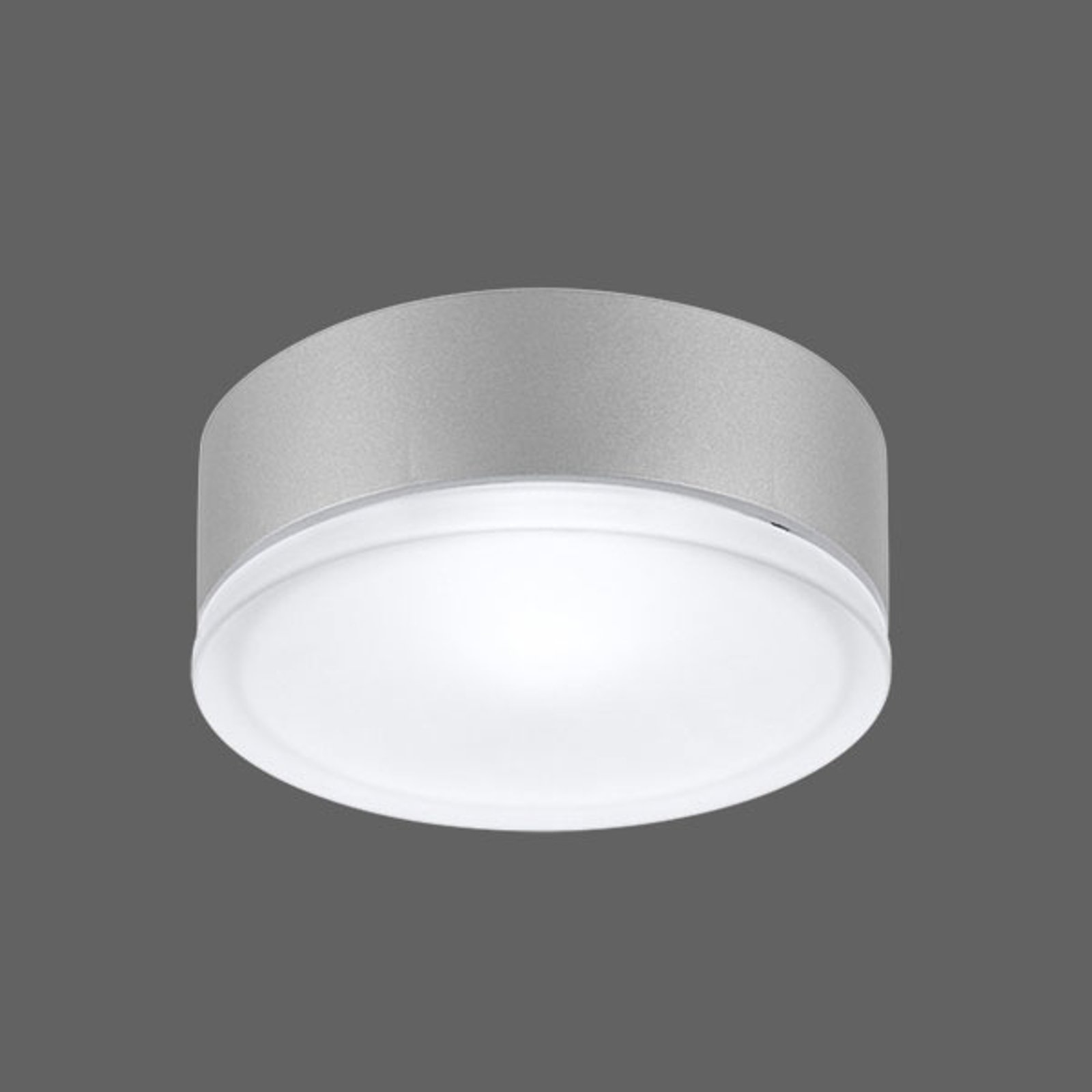 Effektiv vegglampe Drop 22 LED grå 3 000 K
