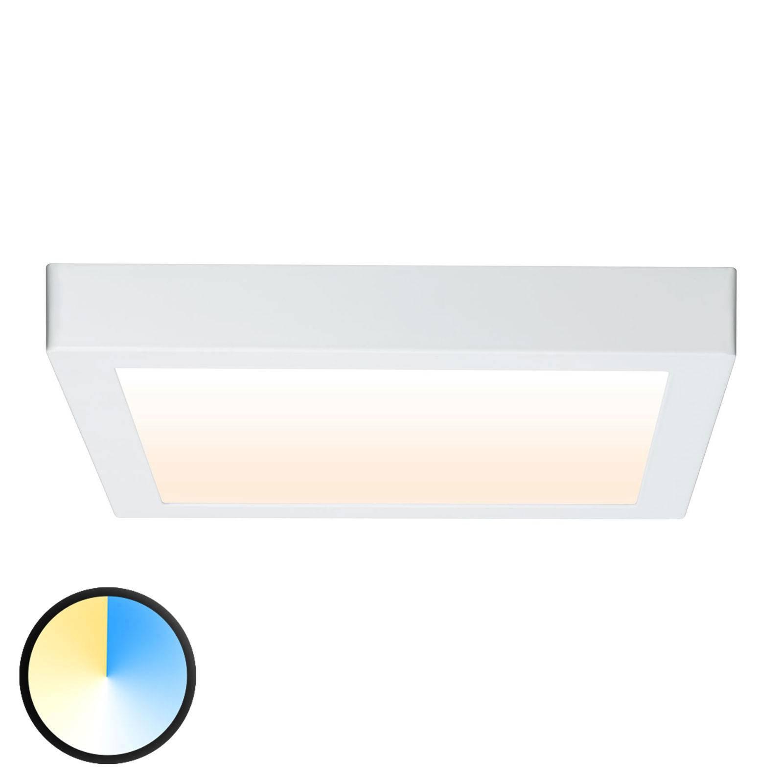 Paulmann Carpo LED-taklampe hvit 30x30 cm