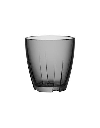 Bruk Grå Drikkeglass Liten 2-pakk