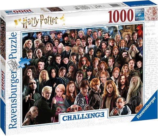 Ravensburger Puslespill Harry Potter 1000 Brikker