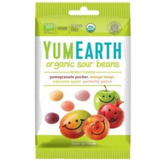 "Eko Godis ""Yum Earth Sour Beans"" 50g - 41% rabatt"