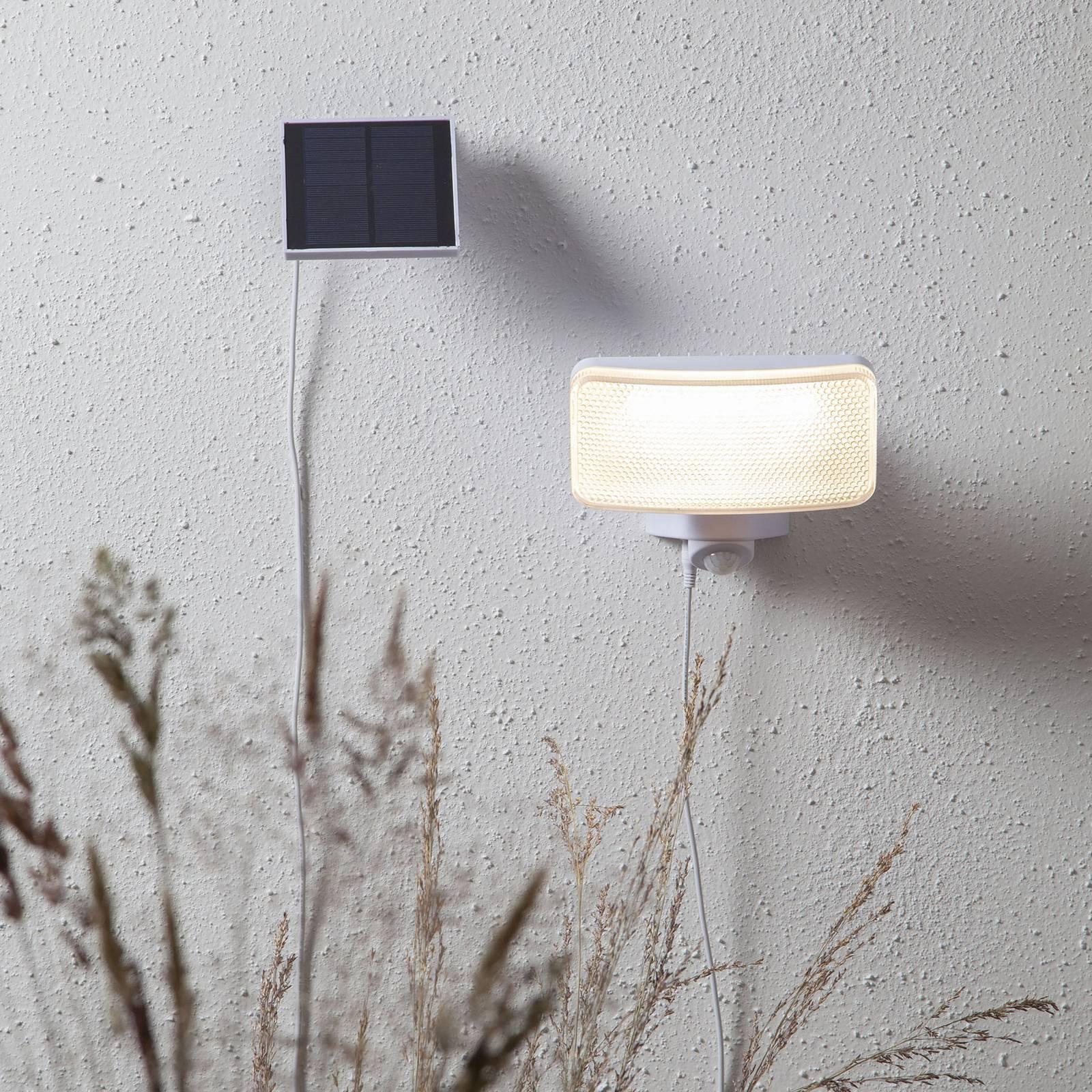 Powerspot Sensor -LED-valaisin kulmikas valkoinen