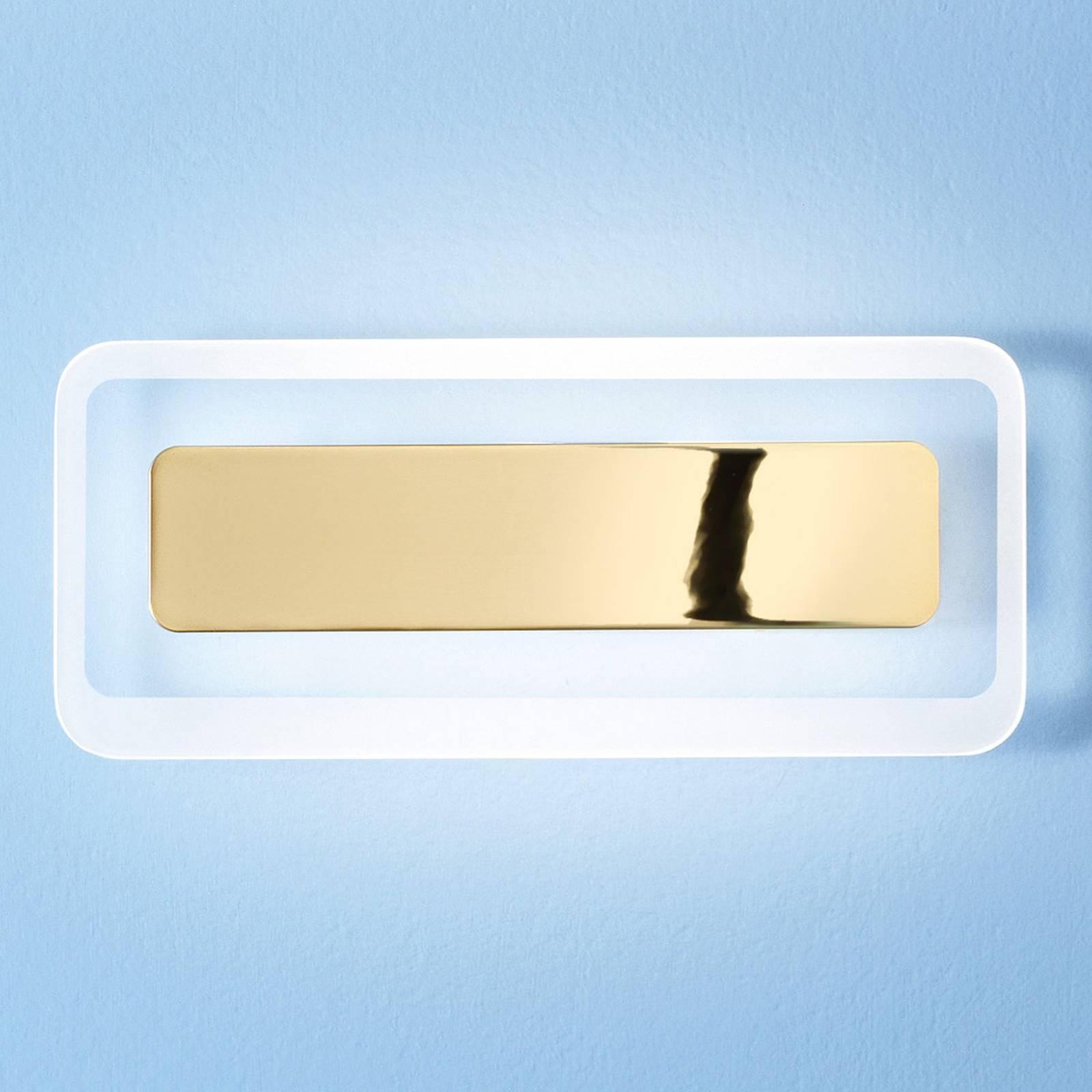 LED-seinävalaisin Antille, kulta, 31,4 cm