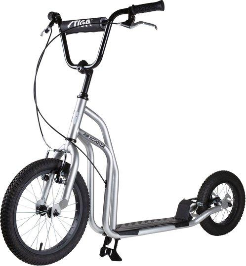 STIGA Air Scooter Sparkesykkel 16 tommer, Sølv