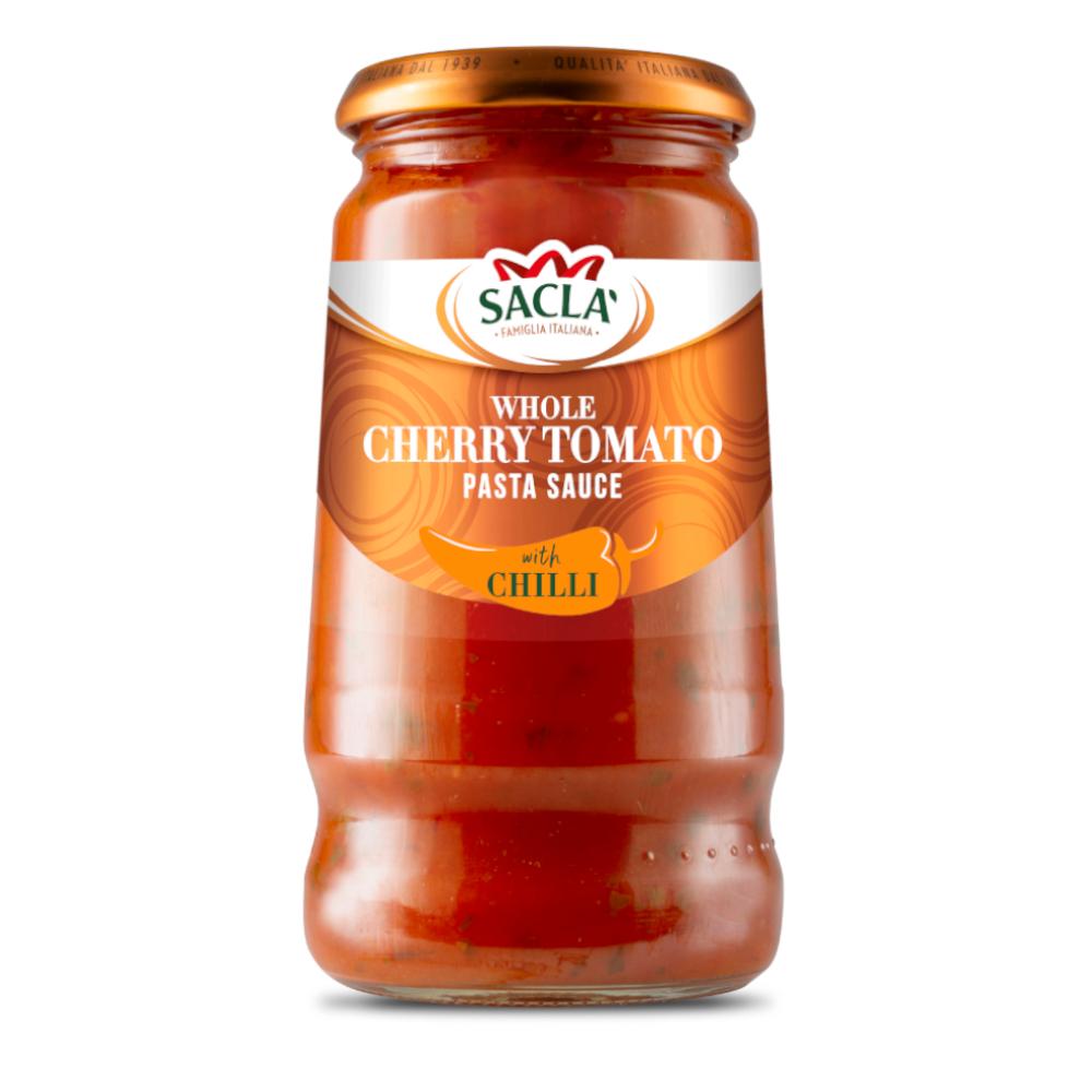 Sacla' Whole Cherry Tomato with Chilli 350g