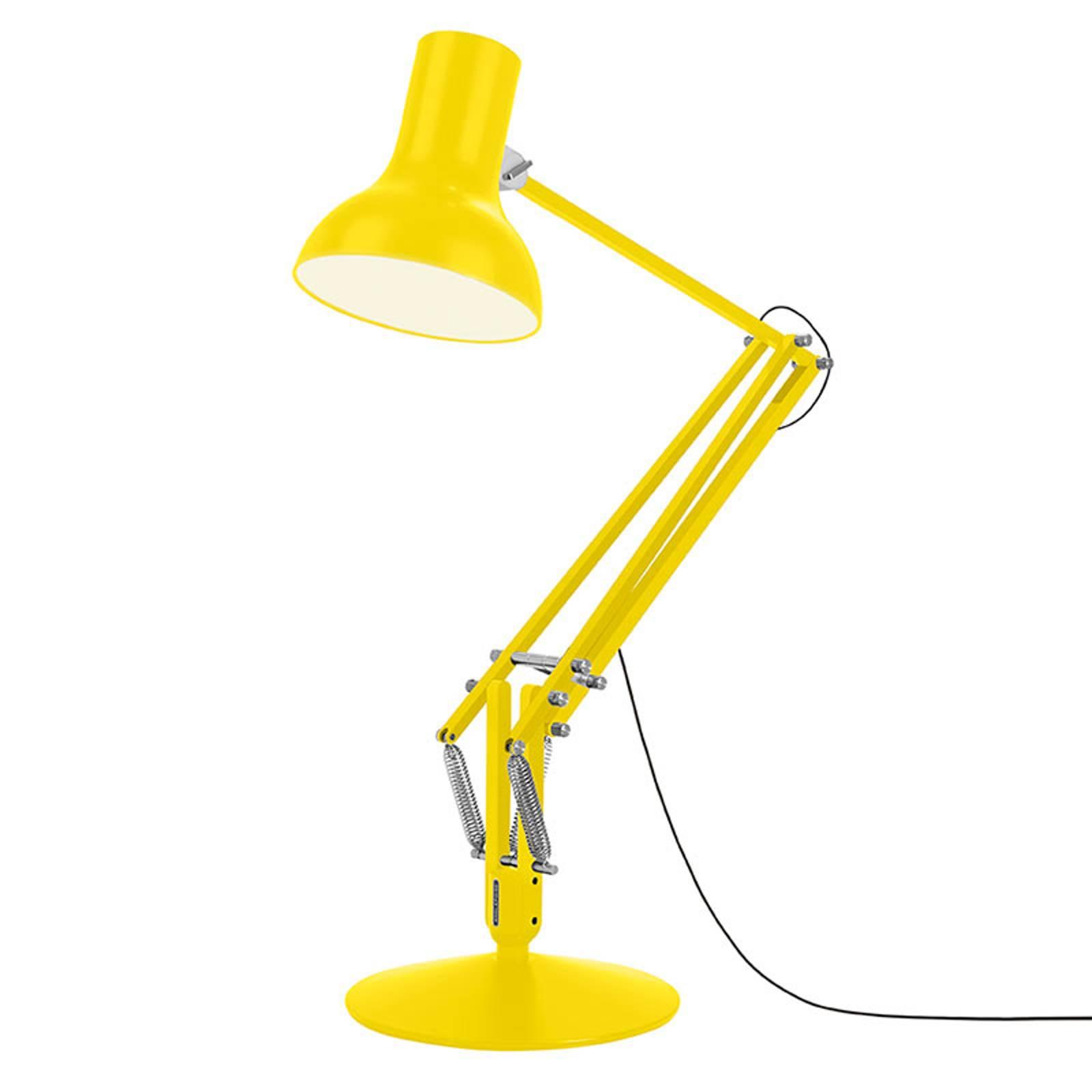Anglepoise Type 75 Giant -lattiavalo keltainen