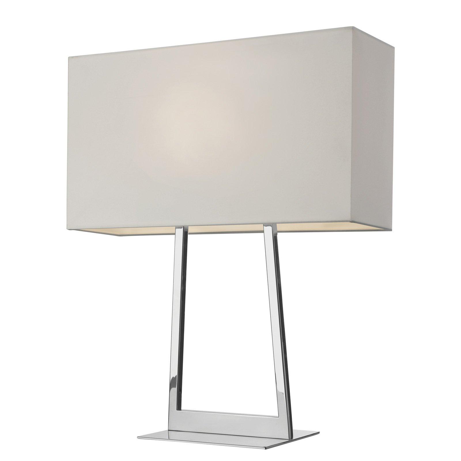 Villeroy & Boch Lyon bordlampe med stoffskjerm