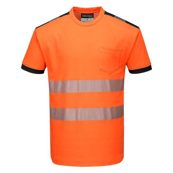 Portwest PW3 T-shirt Hi-Vis orange XS