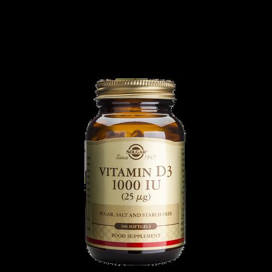 Vitamin D 1000 IU, 100 softgels