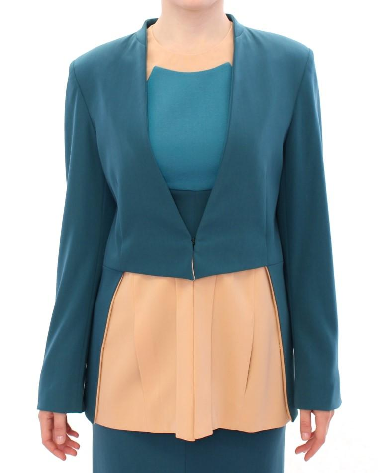 CO|TE Women's Stretch Blazer Blue GSS10193 - IT42|M