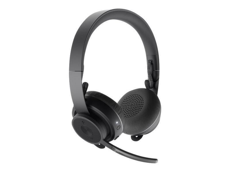 Logitech - Zone Wireless Bluetooth headset - GRAPHITE